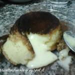 Tortino caldo al cioccolato bianco