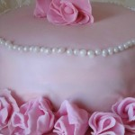Happy birthday to me! Torta di compleanno con rose