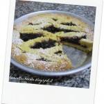 Crostata con farina gialla e amarene