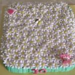 Daisy cake: torta di compleanno con margherite