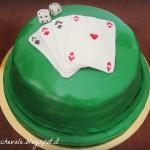 Poker mud cake