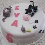Kitten cake: torta di compleanno con gattini