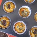 Muffins all'arancia e zucca senza glutine