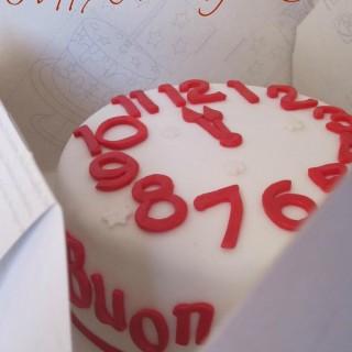 Happy New Year Cake… Buon Anno!