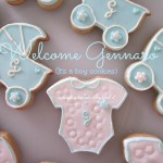 Welcome Gennaro! It's a boy cookies