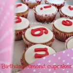 Birthday almond cupcakes & Romantic Easter cookies
