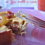 Crostatine al Goji, ricotta e miele