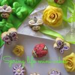Spring life mini cakes
