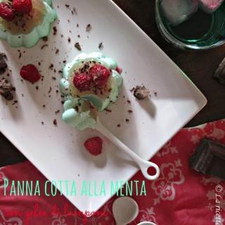 Panna cotta alla menta con gelée di lamponi, sugar free e… oggi mi trovate su Ricette &co.!
