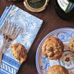 Muffins alle melanzane, olive taggiasche e olio extra vergine di oliva