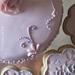 Flower cake & flower cookies