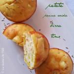 Muffin al salmone, patate e birra