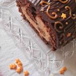 Tronchetto al cioccolato e dulce de leche