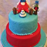Pinocchio cake e biscotti per il primo compleanno del mio nipotino!