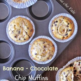 Banana – Chocolate Chip Muffins