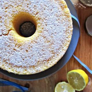 Fluffosa al limone e limoncello