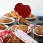 Muffin mela, noci e cannella