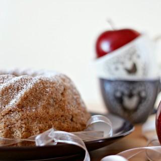 ciambella alle mele e grano saraceno