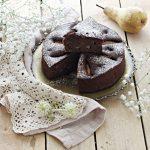 Torta pere e cacao senza glutine e senza lattosio