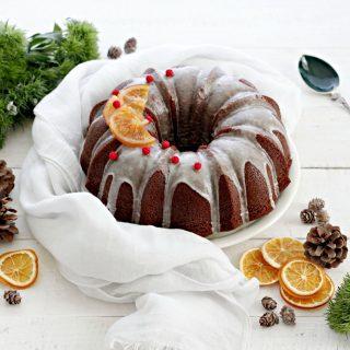 One bowl cake al cacao, arancia e rum