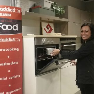 Show cooking per Scavolini store Siena FoodAddiction