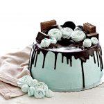 Fluffosa drip cake