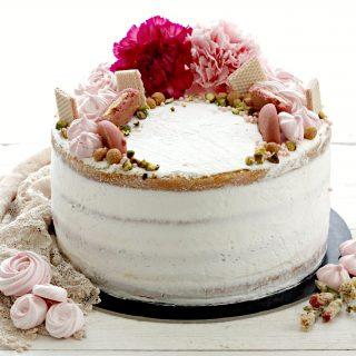 naked cake primavera