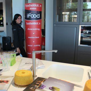 Show cooking per inaugurazione Scavolini store Recanati