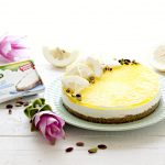 Torta senza cottura al cedro e pistacchi