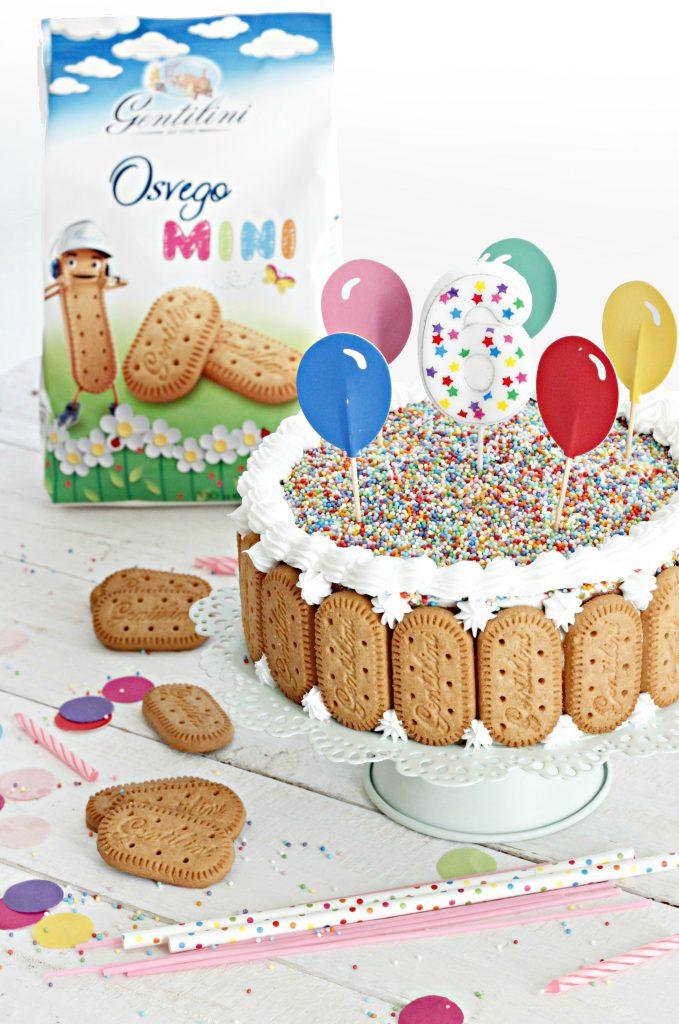 torta al latte e osvego mini