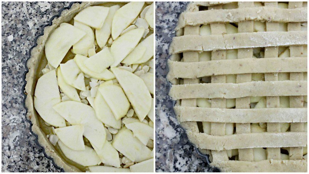 crostata avena e mandorle
