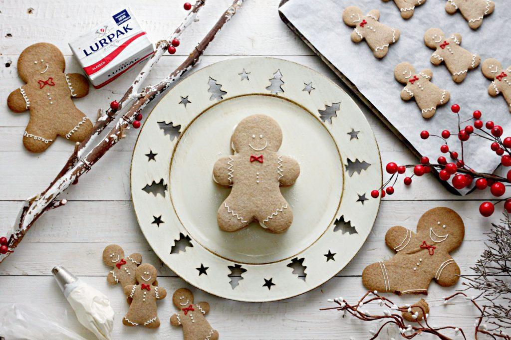gingerbread cream tart