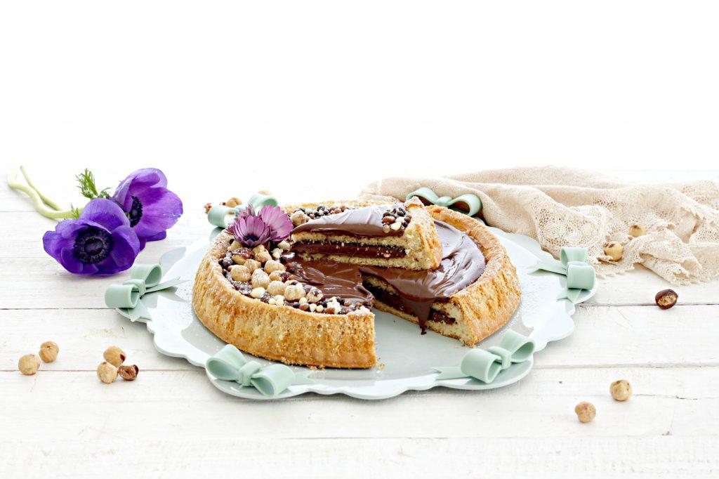 torta morbida alla nutella