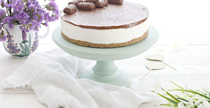 Torta Twix senza cottura