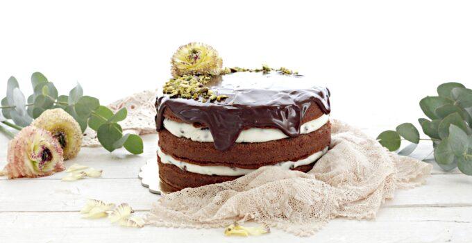 Nuda al cioccolato ricotta e pistacchio