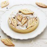 Crostata al cocco, caffè e caramello salato